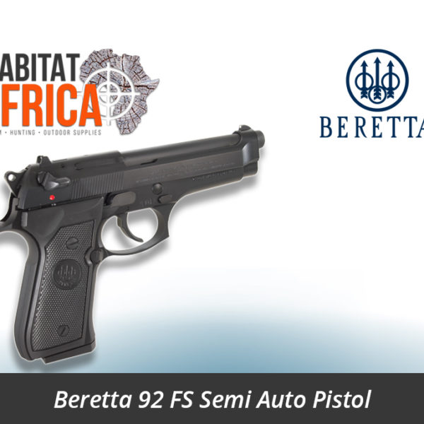 Beretta 92 FS 9mm Semi Auto Pistol