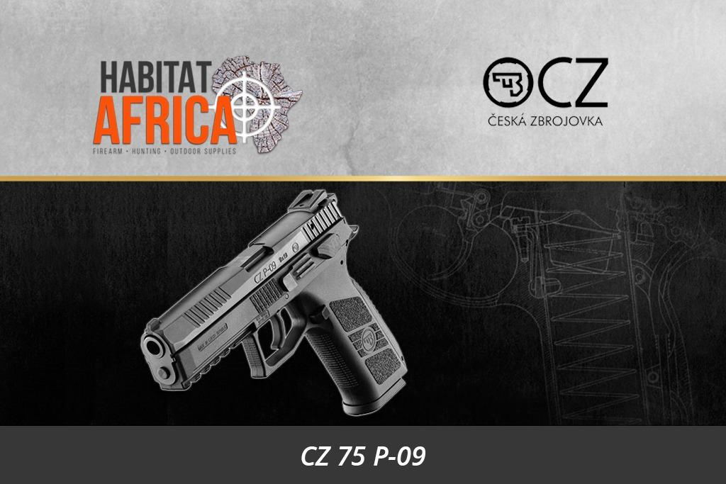 CZ 75 P-09 9mm Semi Auto Pistol