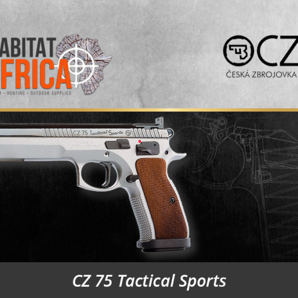 CZ 75 Tactical Sports 9mm Pistol