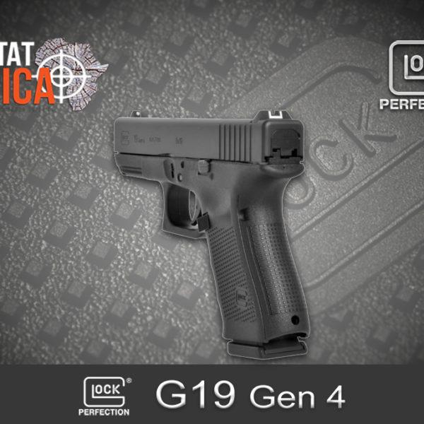 Glock 19 Gen 4 9mm Luger Habitat Africa 1