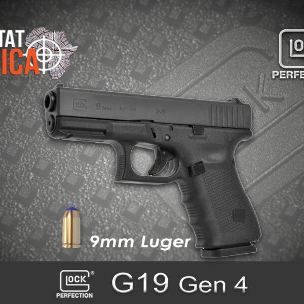Glock 19 Gen 4 9mm Luger Habitat Africa