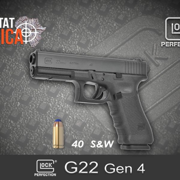 Glock 22 Gen 4 40 S&W Habitat Africa