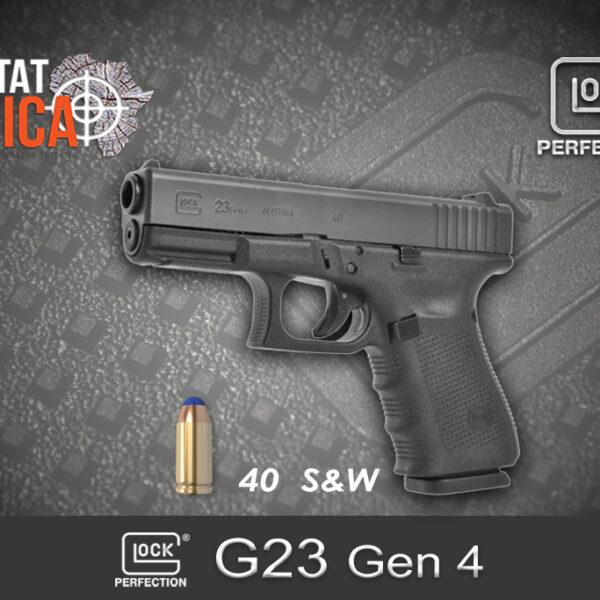 Glock 23 Gen 4 40 S&W Habitat Africa