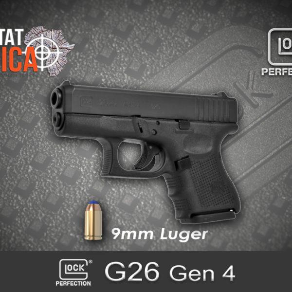 Glock 26 Gen 4 9mm Luger Habitat Africa