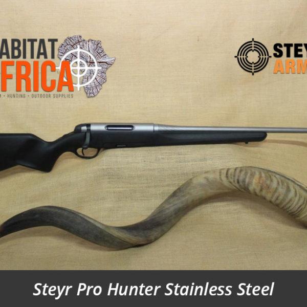 Steyr Pro Hunter Stainless Steel