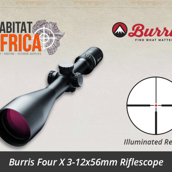 Burris Four X 3-12x56mm Illuminated Reticle