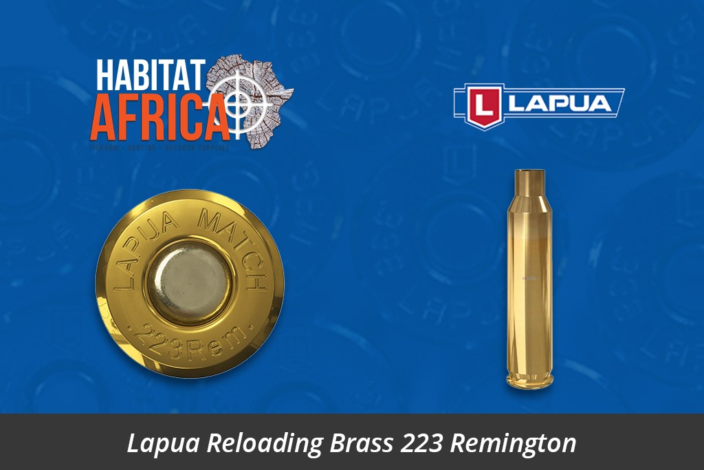 Lapua Reloading Brass 223 Remington 100pcs