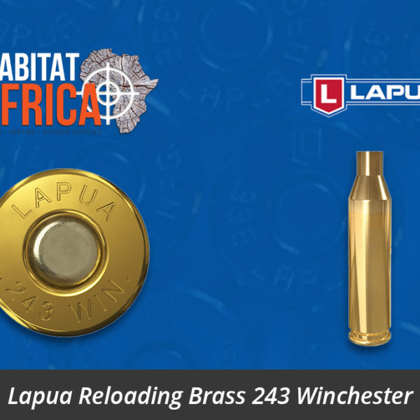 Lapua Reloading Brass 243 Winchester