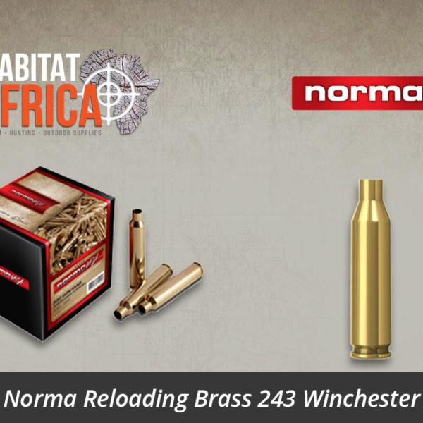 Norma Reloading Brass 243 Winchester