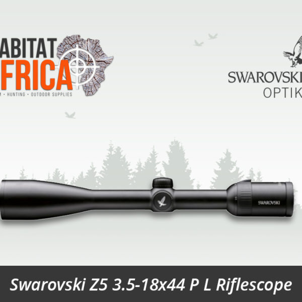 Swarovski Z5 3.5-18x44 P L Riflescope BRX Reticle