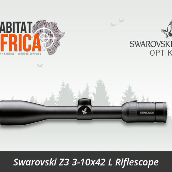 Swarovski Z3 3-10x42 L Riflescope 4A Reticle