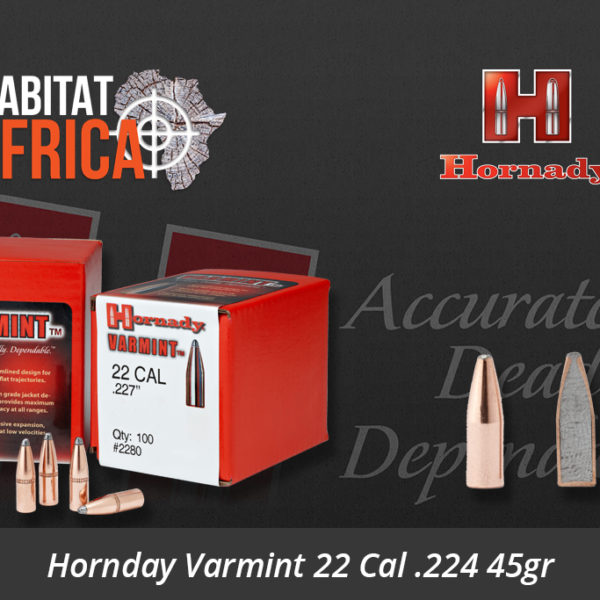 Hornady Varmint 22 Cal 224 45gr