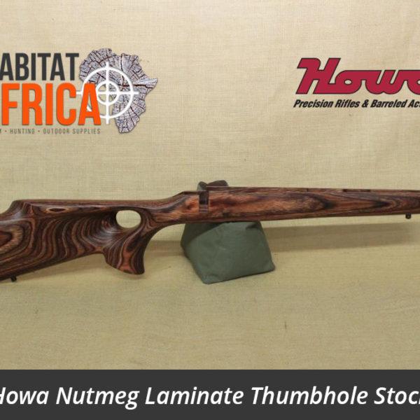 Howa Hunter Nutmeg Laminated Thumbhole Rifle Stock