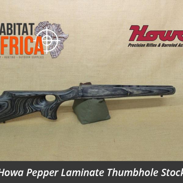 Howa Hunter Pepper Laminated Thumbhole Rifle Stock