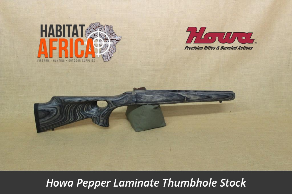 Howa Hunter Pepper Laminated Thumbhole Rifle Stock