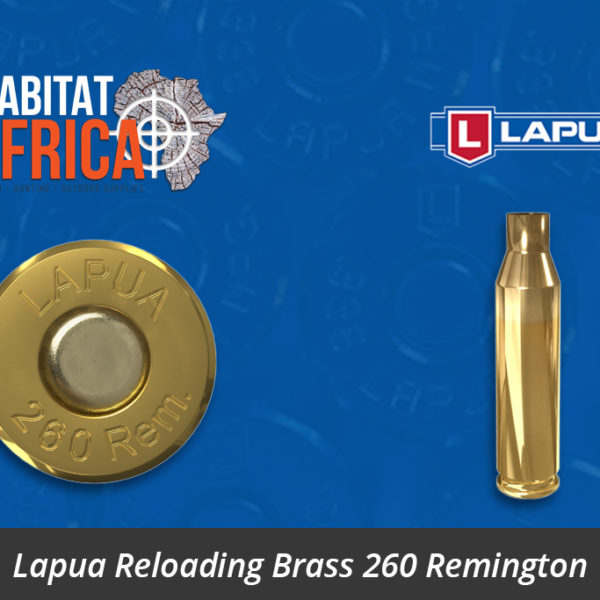 Lapua Reloading Brass 260 Remington Brass Case