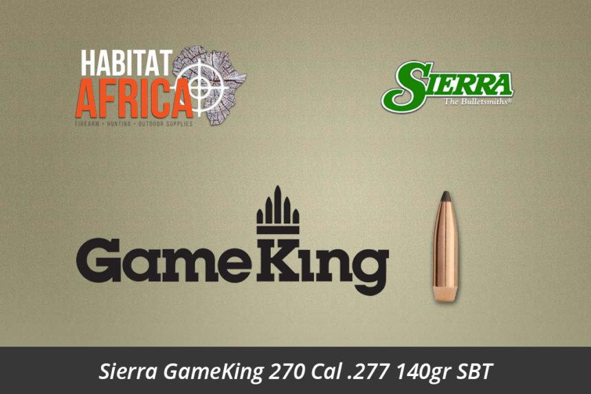 Sierra GameKing 270 Cal 277 140gr SBT