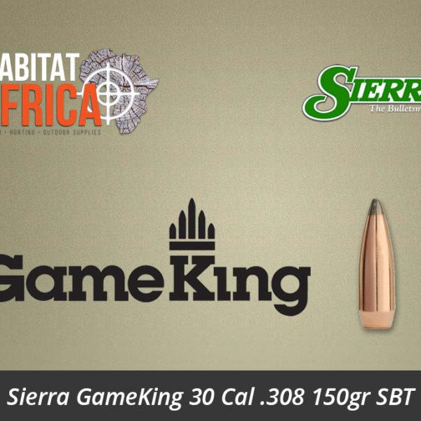 Sierra GameKing 30 Cal 308 150gr SBT Bullet