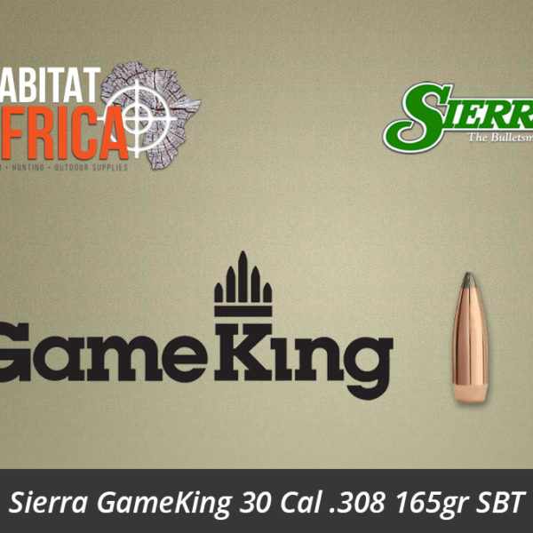 Sierra GameKing 30 Cal 308 165gr SBT