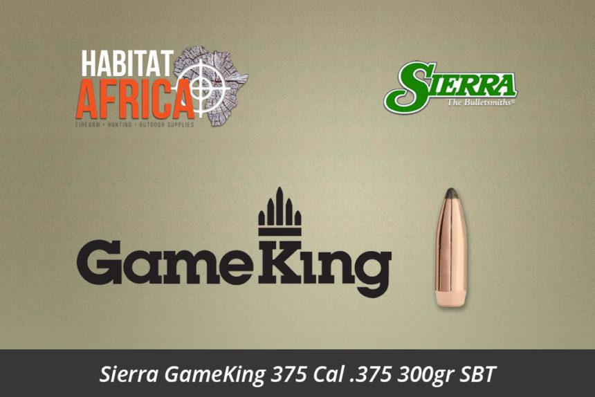 Sierra GameKing 375 Cal 375 300gr SBT