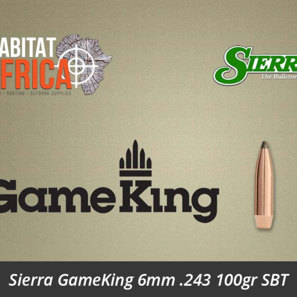 Sierra GameKing 6mm 243 100gr SBT
