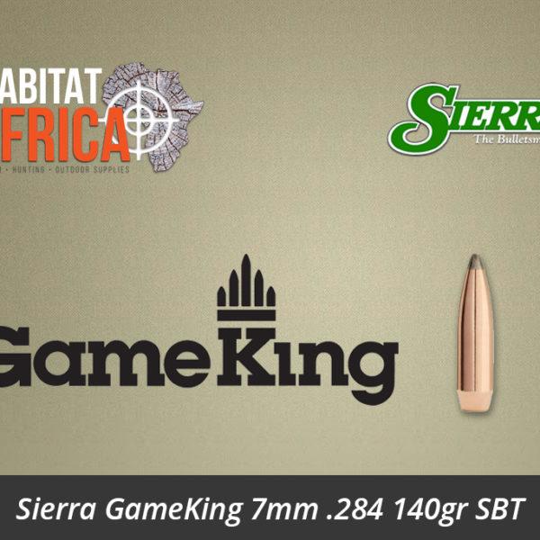 Sierra GameKing 7mm 284 140gr SBT