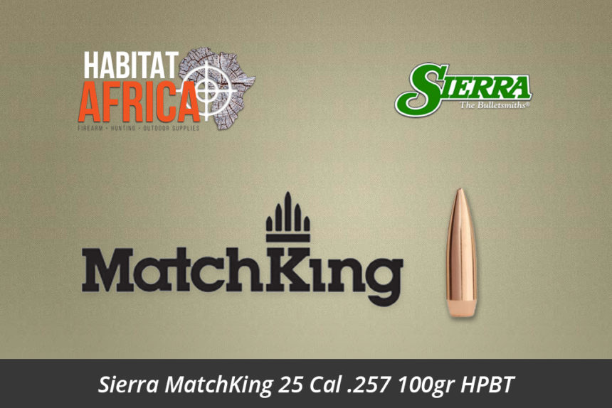 Sierra MatchKing 25 Cal 257 100gr HPBT