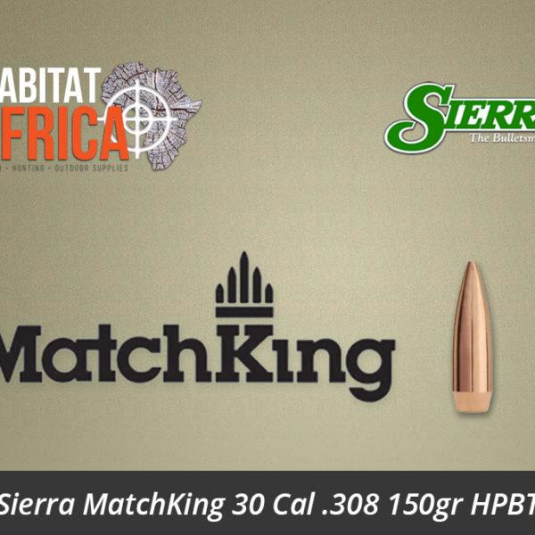 Sierra MatchKing 30 Cal 308 150gr HPBT