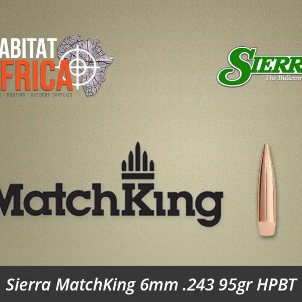 Sierra MatchKing 6mm 243 95gr HPBT