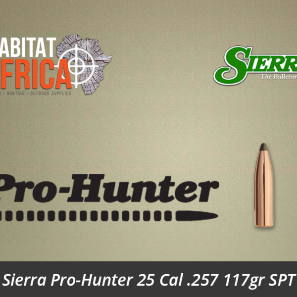 Sierra Pro-Hunter 25 Cal 257 117gr SPT