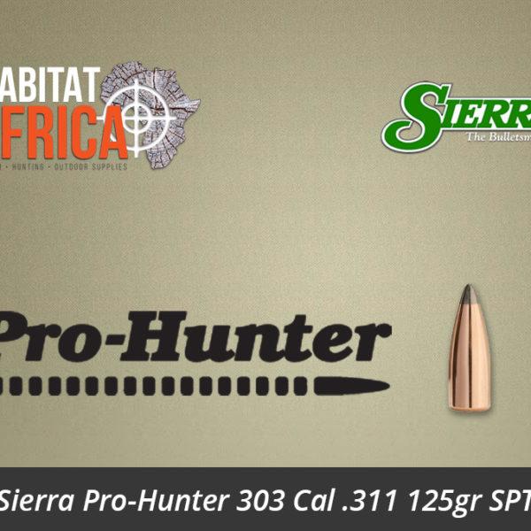 Sierra Pro-Hunter 303 Cal 311 125gr SPT