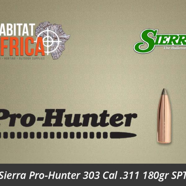 Sierra Pro-Hunter 303 Cal 311 180gr SPT