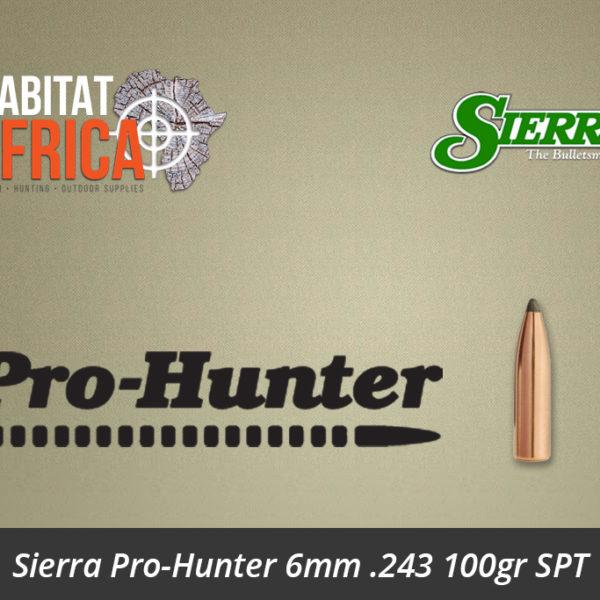 Sierra Pro-Hunter 6mm 243 100gr SPT