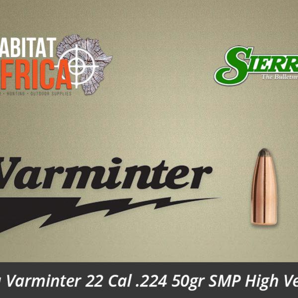 Sierra Varminter 22 Cal 224 50gr SMP High Velocity
