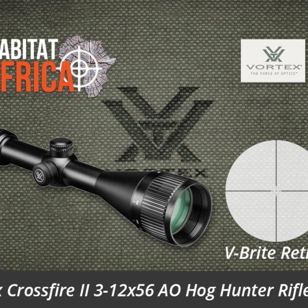 Vortex Crossfire II 3-12x56 AO Hog Hunter Riflescope