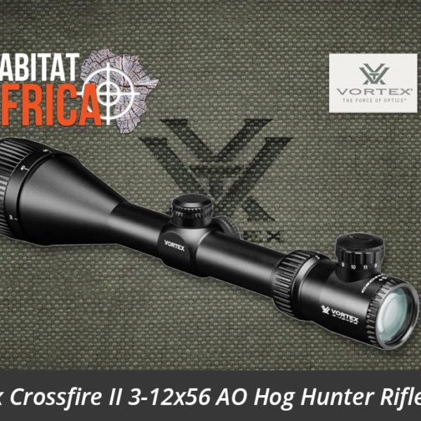 Vortex Crossfire II 3-12x56 AO Hog Hunter Riflescope Optic