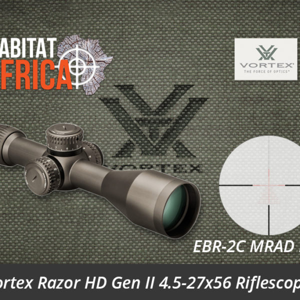 Vortex Razor HD Gen II 4.5-27x56 Riflescope EBR-2C MRAD Reticle