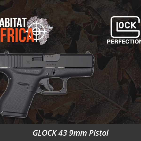Glock 43 9mm Pistol Right Side