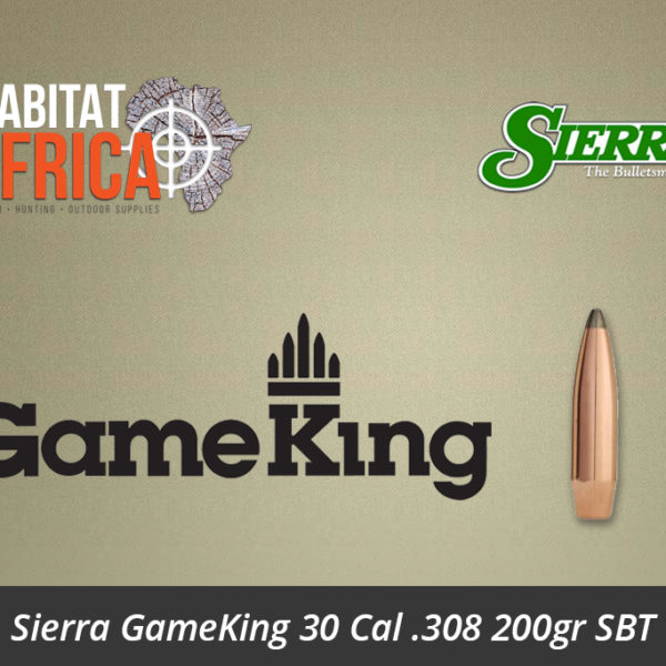 Sierra GameKing 30 Cal .308 200gr SBT