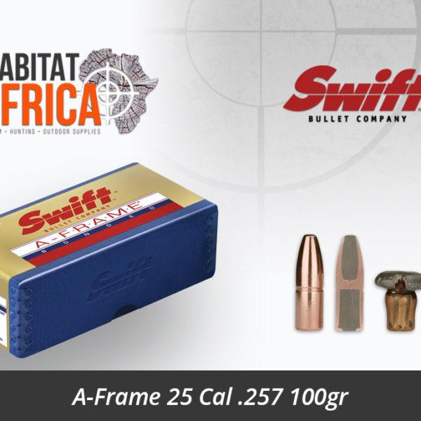 Swift A-Frame 25 Cal 257 100gr Bullet