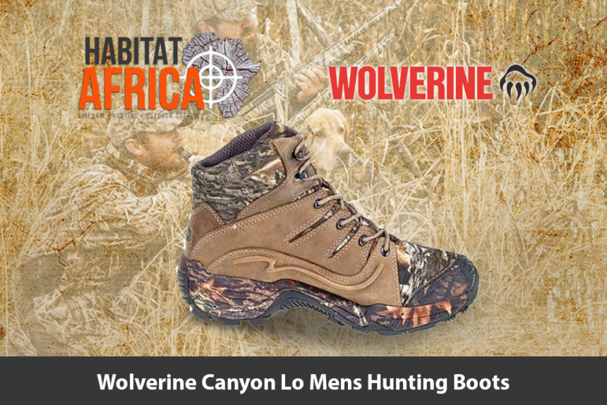 Wolverine Canyon Lo Mens Hunting Boots - Habitat Africa | Outdoor Gear | South Africa