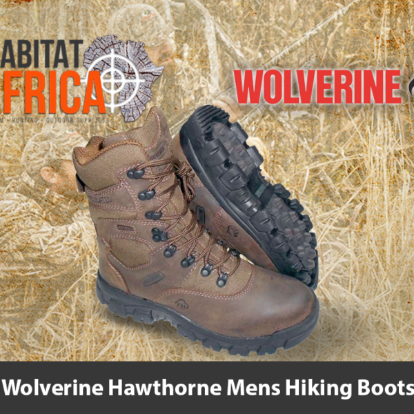 "Wolverine Hawthorne 8"" Mens Hiking Boots - Habitat Africa 