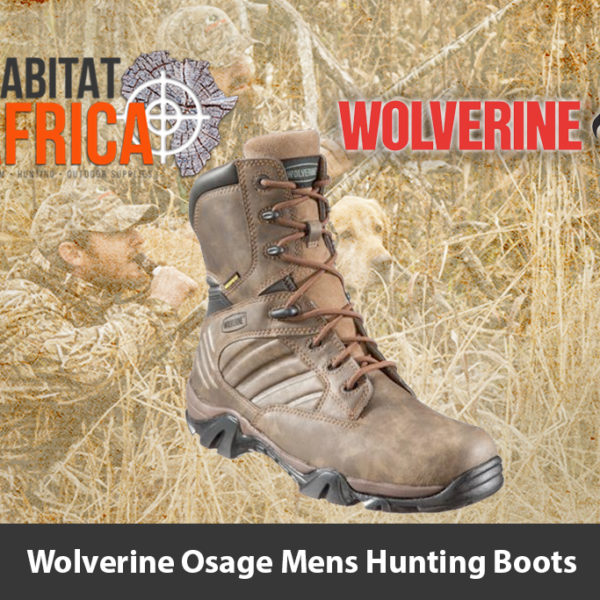 "Wolverine Osage 8"" Mens Hunting Boots - Habitat Africa 