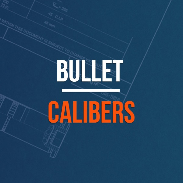 Rifle Bullet Calibers