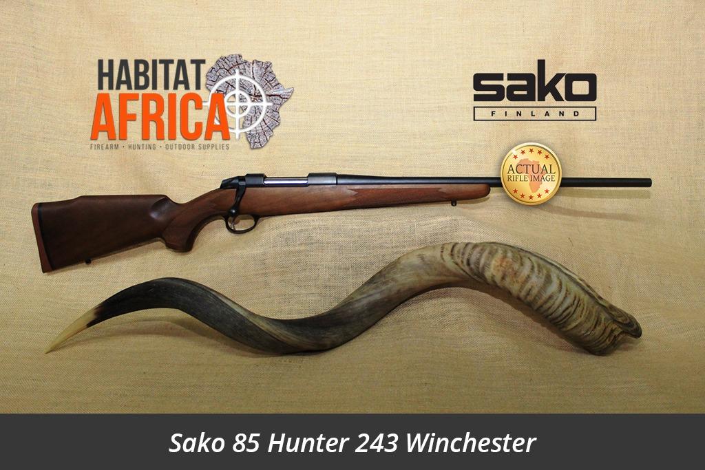 sako 85 hunter 243 winchester hunting rifle habitat africa gun shop