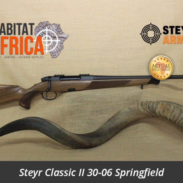 Steyr Classic II 30-06 Springfield - Actual Rifle