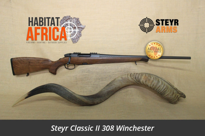 Steyr Classic II 308 Winchester Actual Rifle