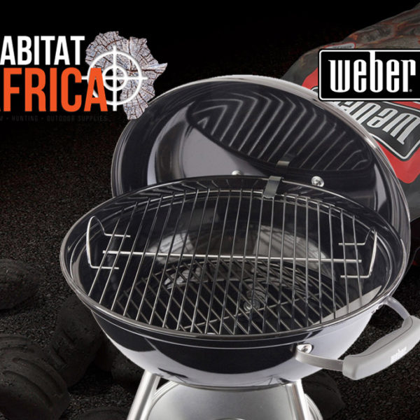 Weber 57cm Compact Kettle Charcoal Braai Grid and Lid