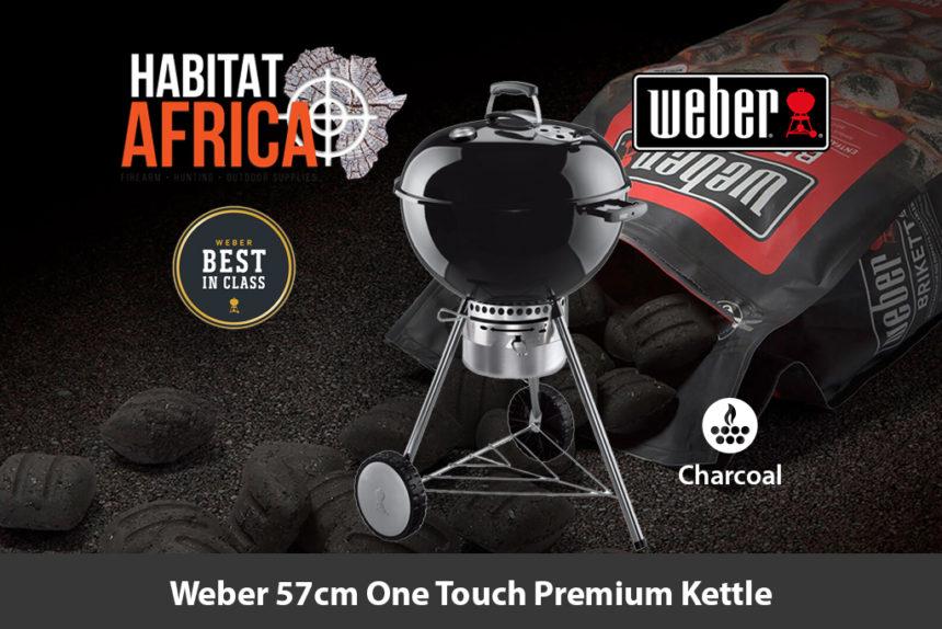 Weber 57cm One Touch Premium Kettle Charcoal Braai