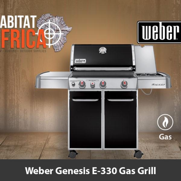 Weber Genesis E-330 Gas Grill - Black